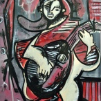 Mandoline Player