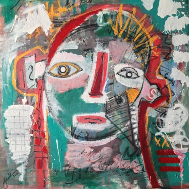 Untitled (Pop Portrait)