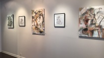 Figurative Abstractions Opening Reception