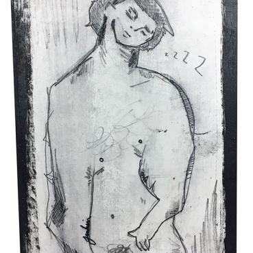 Sleeping Nude Figure