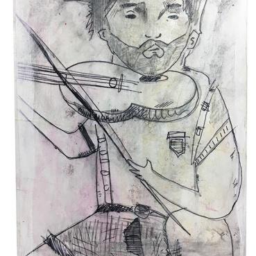 Violin Player (big head)