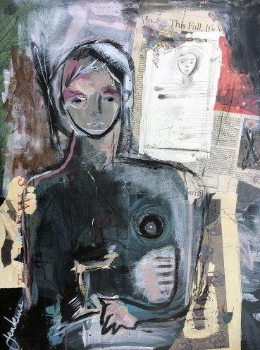 Untitled (Dark Abstract Potrait)