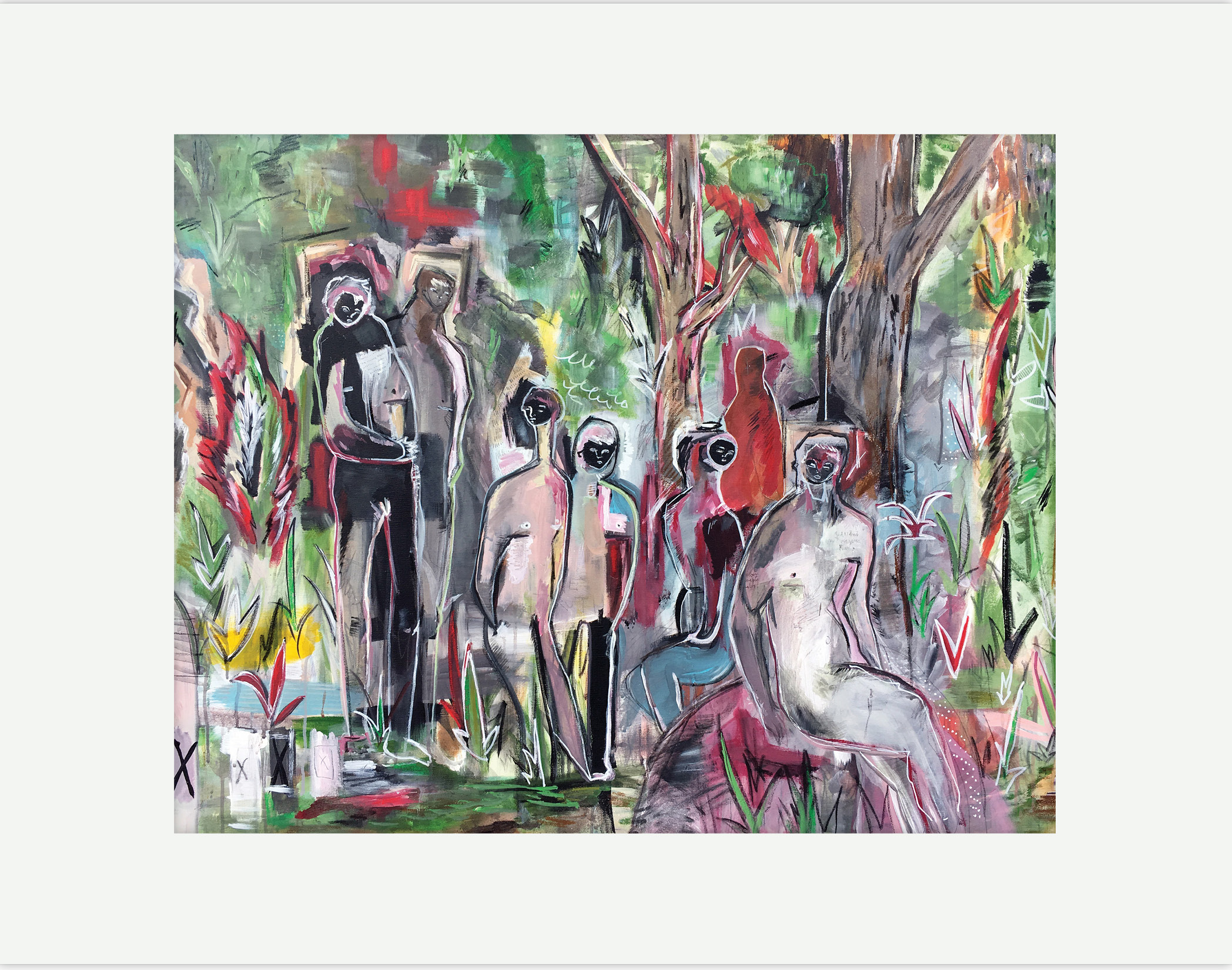 """""""People In The Woods"""""""